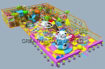Indoor children playground equipment