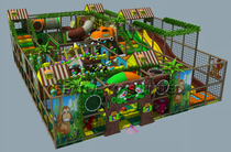 Kids indoor playground equipments