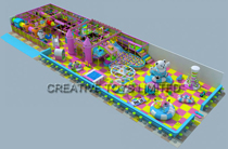 Fashion design indoor playground