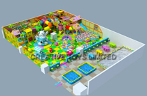 High quality indoor playground
