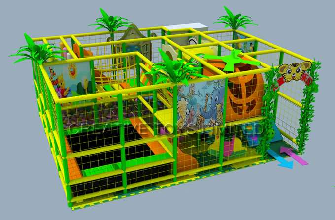 Indoor playground games